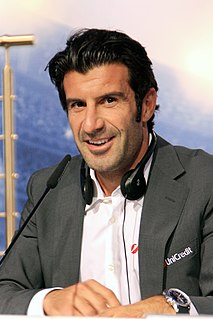 Luís Figo Portuguese football player