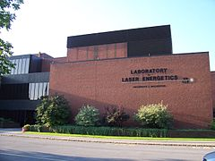 UR Laboratory for Laser Energetics main entrance.jpg