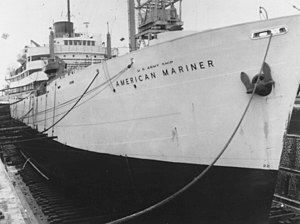 USAS American Mariner - The American Mariner at the start of her new career