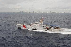 USCG Bernard C. Webber cruises off Miami, 2012-02 -a.jpg