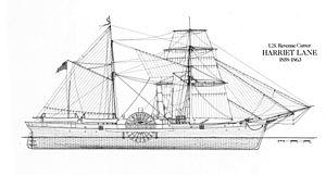 USRC Harriet Lane (1857) - Plans of Harriet Lane