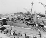 USS Cummings (DD-365) at the Mare Island Naval Shipyard on 4 March 1942 (19-N-28672).jpg
