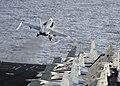 USS Dwight D. Eisenhower conducts flight operations. (8560373714).jpg