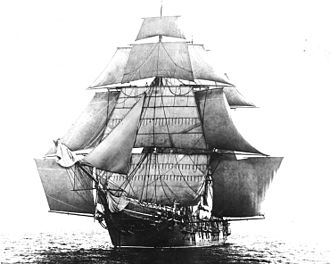 Sailmaker - The USS Monongahela (1862), a vessel exemplifying the 19th-century sailmakers craft