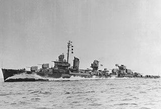 USS <i>Nicholas</i> (DD-449) US Navy Fletcher-class destroyer in service 1942-1970