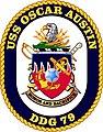 USS Oscar Austin (DDG-79) Seal.jpg