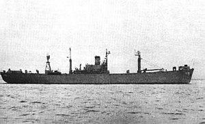 USS Picket (YAGR-7) - USS Picket (AGR-7) in 1956