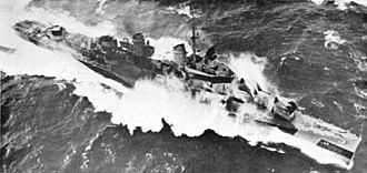 USS Tolman - Image: USS Tolman (DM 28) underway c 1945