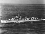 USS Twining (DD-540) underway at sea in the 1950s (NH 73459).jpg