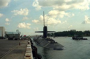 The USS West Virginia (SSBN-736)