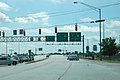 US 27 northern terminus, looking south, Fort Wayne, Indiana.jpg