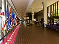 US Navy 030819-N-9593R-193 View of the flag lined corridor of the main lobby as seen at the National Naval Medical Center in Bethesda, Maryland.jpg
