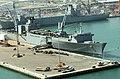 US Navy 040301-N-0743B-028 Aerial view of the port of Ash-Shu'aibah, Kuwait.jpg