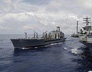 USNS John Ericsson refueling USS Nimitz