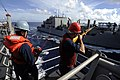 US Navy 100916-N-8335D-023 USS Harpers Ferry conducts an underway replenishment.jpg