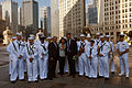 US Navy 110626-N-HN795-042 The NBC Channel 5 Chicago weekend news team poses with members of the U.S. Navy Band Great Lakes.jpg