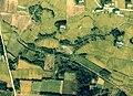 Uchida-Tameike water reservoir Aerial photograph.1976.jpg