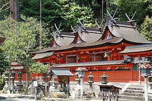 Cultural Property (Japan) - Uda Mikumari Shrine in Uda, Nara