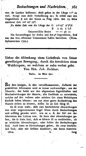 File:Ueber die Ablenkung eines Lichtstrals von seiner geradlinigen Bewegung.djvu