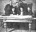 Ukrajinski zastopniki na pogajanjih v Brest-Litovsku.jpg