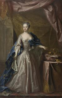 Ulrika Eleonora d.y., 1688-1741, drottning av Sverige (Georg Engelhard Schröder) - Nationalmuseum - 16028.png
