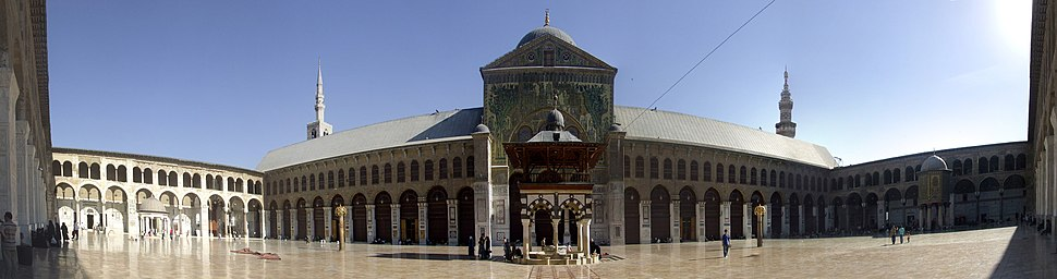 Umayyad Mosquee panoramic