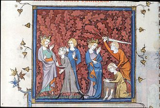 Mutilation - Fredegund ordering the mutilation of Olericus