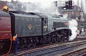 LNER Class A4 4488 Union of South Africa - 1980s photo, by Les Chatfield