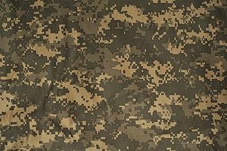 Universal Camouflage Pattern - A Universal Camouflage Pattern fabric