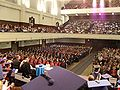 University of Otago December 2009 graduation Dunedin Town Hall.jpg