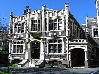 University of Otago Clocktower complex - Marama Hall