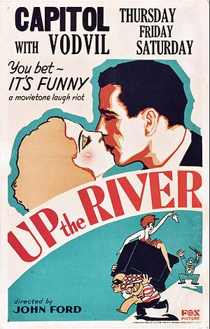 Up the River - Poster featuring Bogart