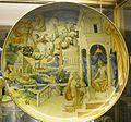 Urbino, francesco durantino, piatto con la storia di fetonte, 1545.JPG