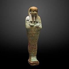 Ushebti figurine of Psametek-MAHG D 0385