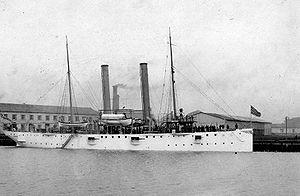 USS Nashville (PG-7) - USS Nashville