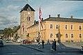 Vår Frue kirke og Hornemansgården (ca. 1958) (8134677744).jpg