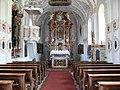 Völs, Wallfahrstkirche Hl. Blasius, Innenansicht.JPG