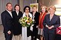 V.l.n.r. Thomas Herrendorf, Jutta Wagner, Nivedita Prasad, Renate Künast, Michaele Schreyer, Barbara Unmüßig (6813104438).jpg