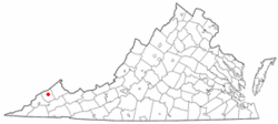 Location of Clinchco, Virginia