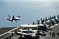 VFA-143 FA-18E Super Hornet launching from USS Dwight D. Eisenhower (CVN-69) 121007-N-NB538-089.jpg