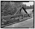 VIEW OF EAST TRUSS, LOOKING EAST - Marlow Road Bridge, Spanning CSX Railroad on Marlow Road, Clinton, Anderson County, TN HAER TN-31-7.tif