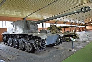 <i>Sturer Emil</i> heavy tank destroyer