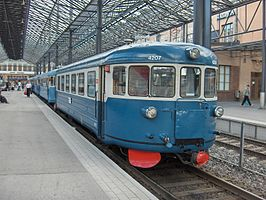 Dm7 - 4207 op 21 juli 2007 in Helsinki Central station