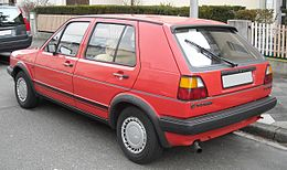 VW Golf II GTD rear 20090309.jpg