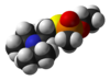 The 3D structure of VX