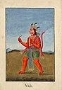 Vali, the Monkey King killed by Rāma..jpg