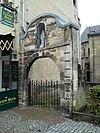 Poortje aan de Kerksteeg, Grotestraat