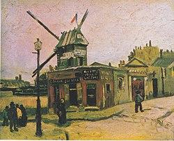 Vincent van Gogh: Le Moulin de la Galette