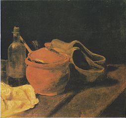Still Life with Clogs
