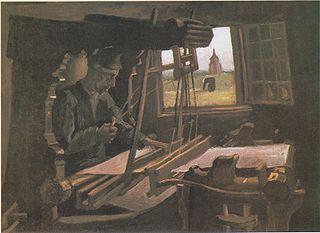Weaver Near an Open Window